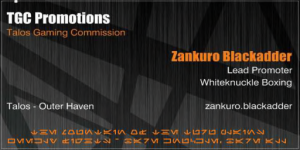 Zankuro Blackadder - Contact