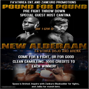 New Aldaraan FIght Night (SWRP not 4d)