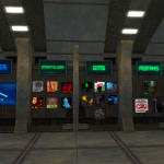 The wall of important info and people of the Coruscant sim